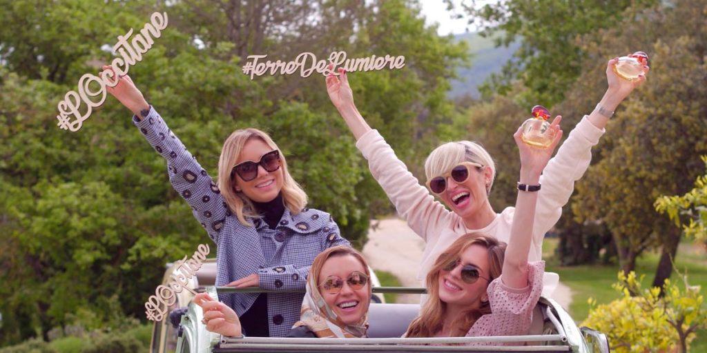des influences brandissent le parfum Terre de Lumière de L'Occitane en Provence