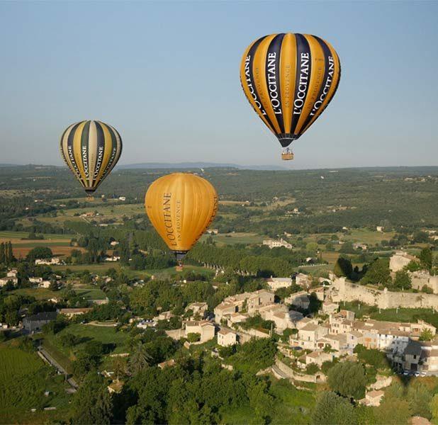 Les Montgolfières de L'Occitane en Provence