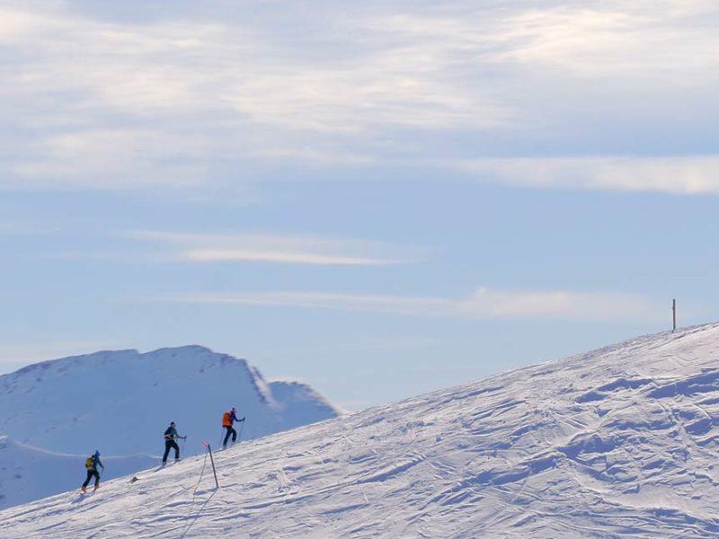 Randonnée ski aux Orres