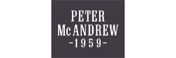 logo de la marque de vêtements Peter Mac Andrew